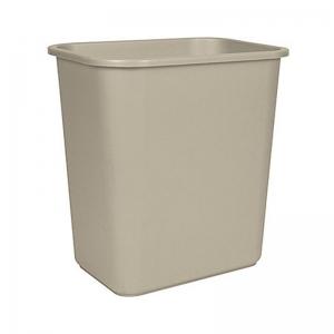 Corbeille poubelle bureau deskside recycling bin waste basket Nova Mobilier KA2818-BG