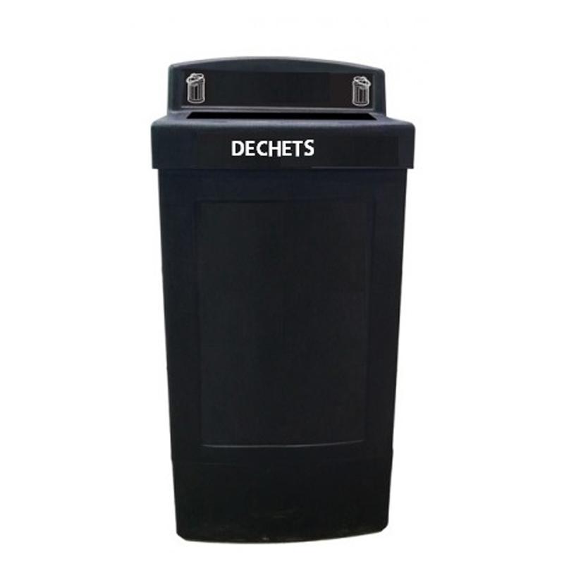Corbeille poubelle dechets Centry container bin Nova Mobilier CD-CENTRYDG1C