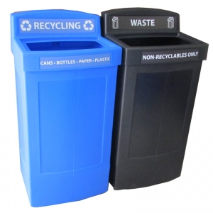 Corbeille poubelle recyclage dechets Centry recycling waste container bin Nova Mobilier CD-CENTRYB2C web