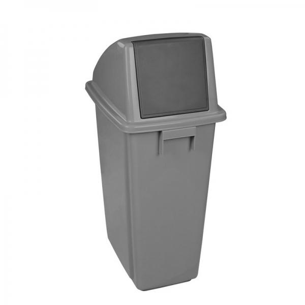 Corbeille poubelle recycling waste bin Nova Mobilier DP07309 gry