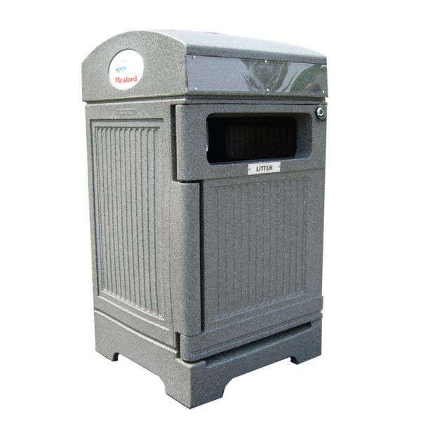 Single-Stream waste and recycling receptacle | PHOENIX