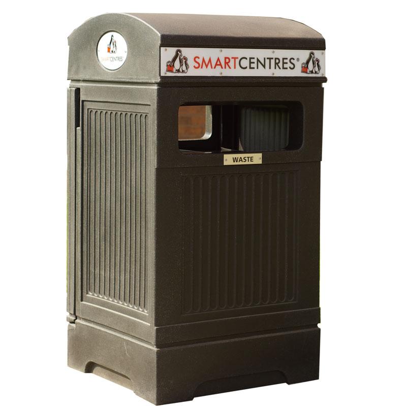 Station recyclage poubelle receptacle container bin phoenix nova mobilier 3 web