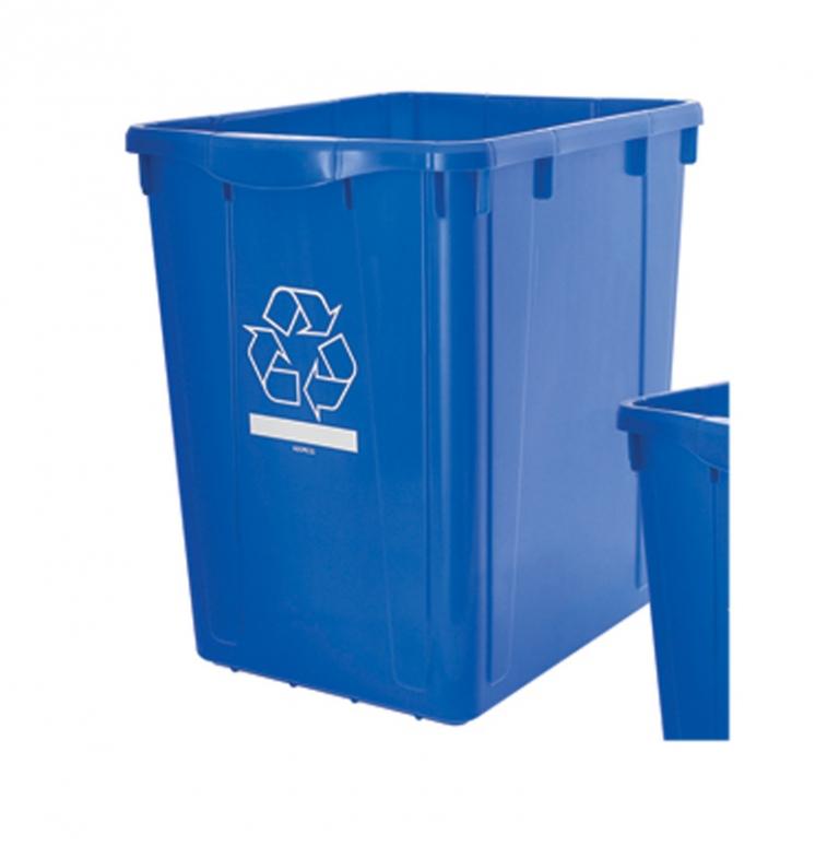 bac recyclage rue curbside recycling bin br83l nova mobilier