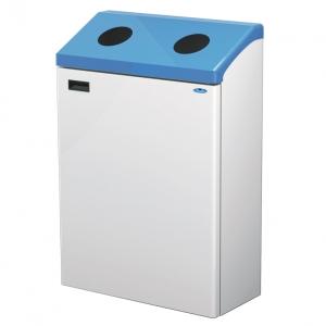 station poubelle dechets recyclage waste recycling station bin receptacle fr315 nova mobilier