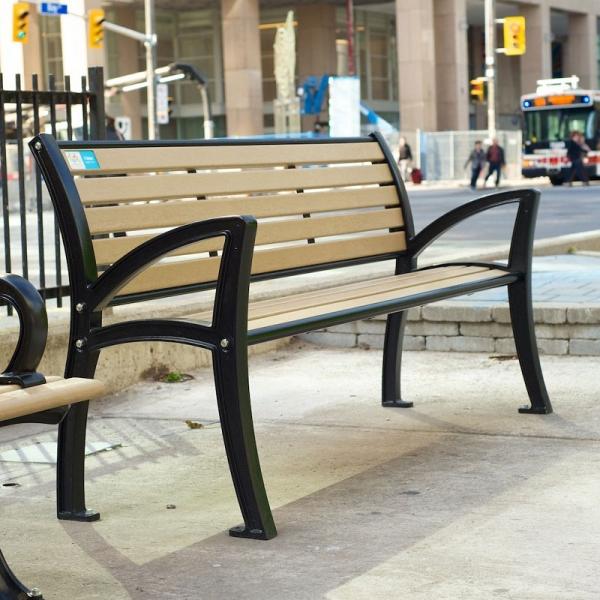 Banc parc publique park public bench ergo nova mobilier web 1