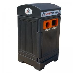 Station déchets et recyclage 2 voies PHOENIX DUO