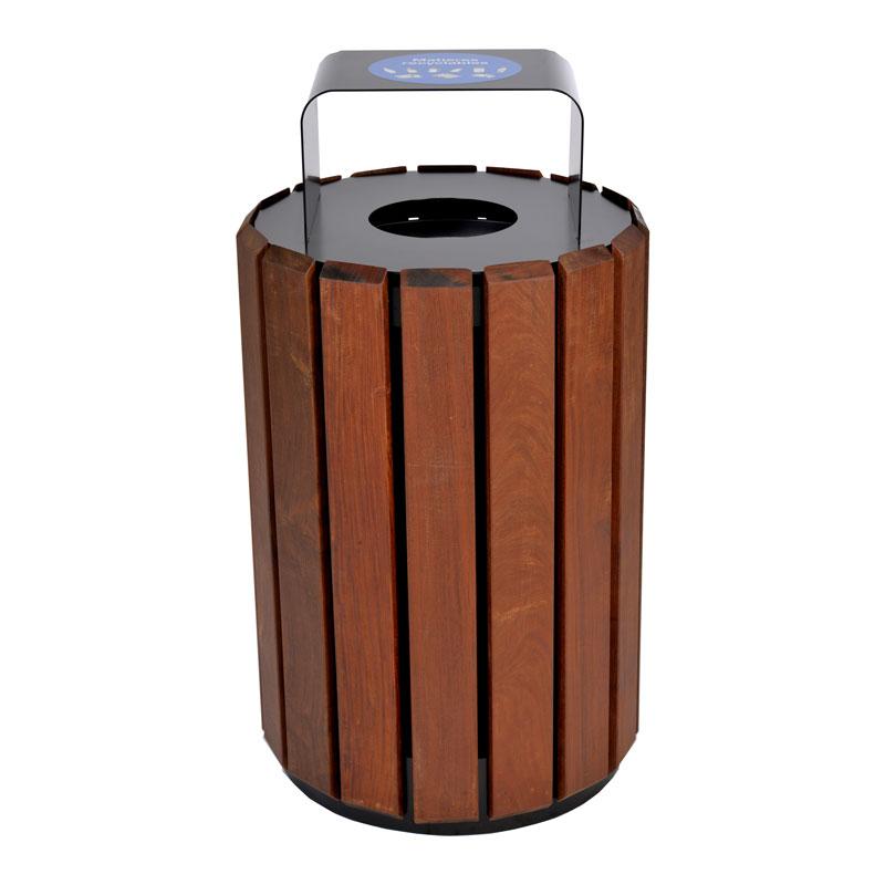Poubelle urbaine panier a rebut dechets recyclage urban bin receptacle container recycling city 6 Nova Mobilier