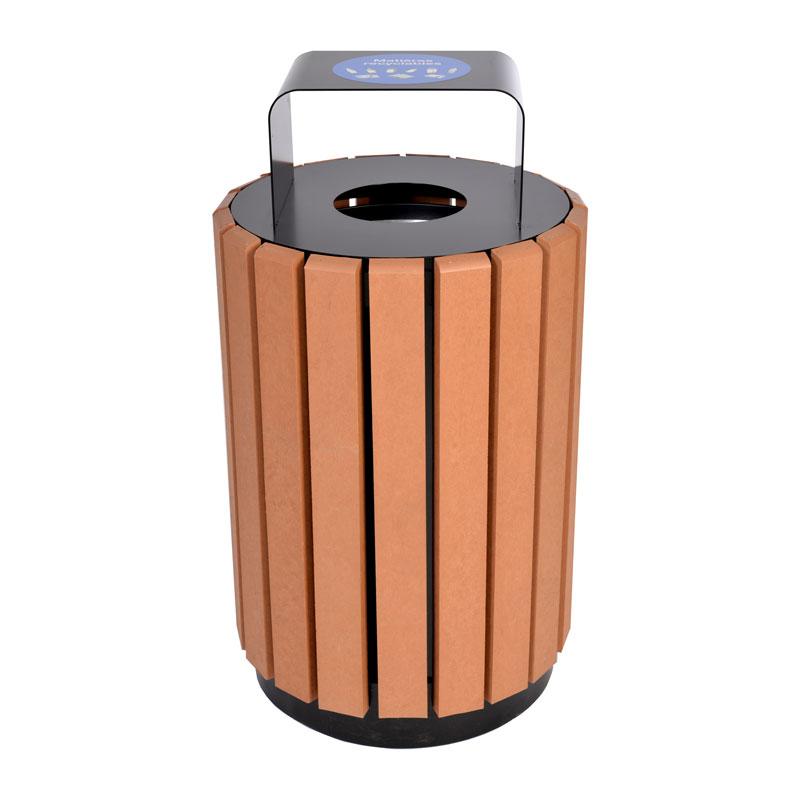 Poubelle urbaine panier a rebut dechets recyclage urban bin receptacle container recycling city 8 Nova Mobilier